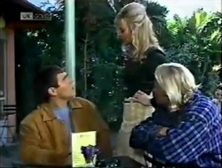 Mark Gottlieb, Annalise Hartman, Brad Willis in Neighbours Episode 2002