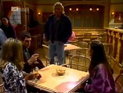 Lucy Robinson, Mark Gottlieb, Brad Willis, Beth Brennan in Neighbours Episode 2002