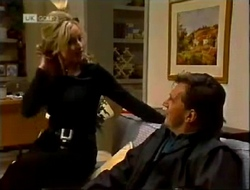 Annalise Hartman, David Kazalian in Neighbours Episode 2002