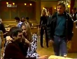 Mark Gottlieb, Lucy Robinson, Annalise Hartman, David Kazalian in Neighbours Episode 2003