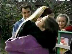 Stephen Gottlieb, Phoebe Bright, Beth Brennan, Annalise Hartman in Neighbours Episode 2003