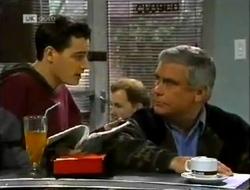 Rick Alessi, Lou Carpenter in Neighbours Episode 2004