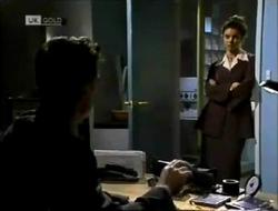 Paul Robinson, Gaby Willis in Neighbours Episode 2004