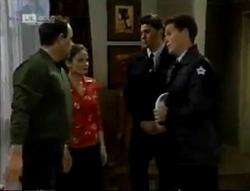 Philip Martin, Julie Robinson, Policeman in Neighbours Episode 2005