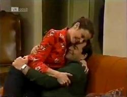 Julie Robinson, Philip Martin in Neighbours Episode 2005