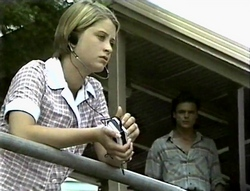 Danni Stark, Wayne Duncan in Neighbours Episode 2094