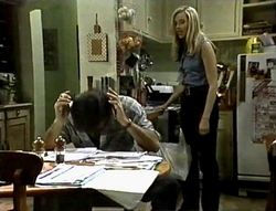 Wayne Duncan, Annalise Hartman in Neighbours Episode 2094