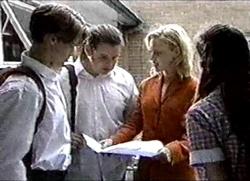Billy Kennedy, Toadie Rebecchi, Lisa Elliot, Anne Wilkinson in Neighbours Episode 2802