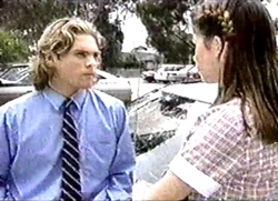 Justin Black, Anne Wilkinson in Neighbours Episode 2802