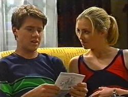 Lance Wilkinson, Amy Greenwood in Neighbours Episode 2998
