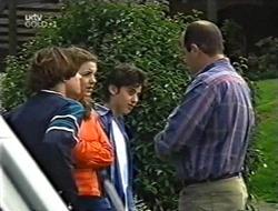 Paul McClain, Hannah Martin, Mike Burns, Philip Martin in Neighbours Episode 2998
