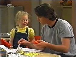 Louise Carpenter (Lolly), Darren Stark in Neighbours Episode 2998