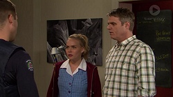 Mark Brennan, Xanthe Canning, Gary Canning in Neighbours Episode 7441