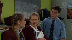 Piper Willis, Xanthe Canning, Ben Kirk in Neighbours Episode 7441