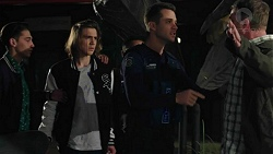 Cooper Knights, Mark Brennan, Gary Canning in Neighbours Episode 7441