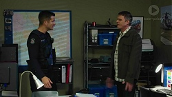 Mark Brennan, Gary Canning in Neighbours Episode 7442