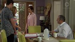 Ben Kirk, Xanthe Canning, Susan Kennedy, Karl Kennedy in Neighbours Episode 7442