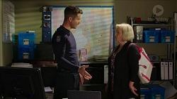 Mark Brennan, Sheila Canning in Neighbours Episode 7442