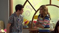 Ben Kirk, Xanthe Canning in Neighbours Episode 7442