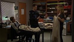 Charlie Hoyland, Mark Brennan, Steph Scully in Neighbours Episode 7442