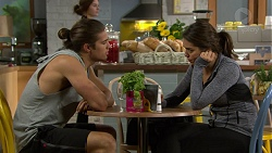 Tyler Brennan, Paige Smith in Neighbours Episode 7442