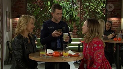 Steph Scully, Mark Brennan, Sonya Mitchell in Neighbours Episode 7443