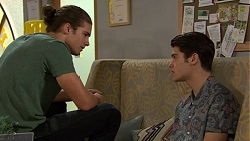 Tyler Brennan, Ben Kirk in Neighbours Episode 7443