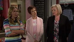 Xanthe Canning, Susan Kennedy, Sheila Canning in Neighbours Episode 7443