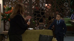Terese Willis, James Udagawa in Neighbours Episode 7444