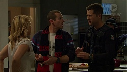 Steph Scully, Toadie Rebecchi, Mark Brennan in Neighbours Episode 7444