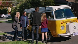 Lauren Turner, Brad Willis, Ned Willis, Piper Willis in Neighbours Episode 7444