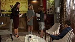 Elly Conway, Madison Robinson, Terese Willis, James Udagawa in Neighbours Episode 7444
