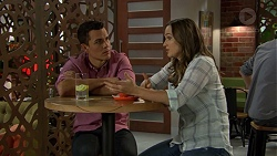 Aaron Brennan, Amy Williams in Neighbours Episode 7444