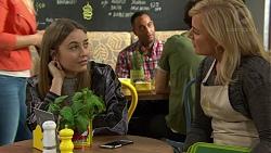 Piper Willis, Lauren Turner in Neighbours Episode 7445