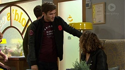 Ned Willis, Bree Wozniacki in Neighbours Episode 7445