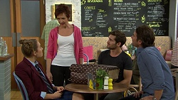 Piper Willis, Susan Kennedy, Ned Willis, Brad Willis in Neighbours Episode 7446