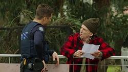 Mark Brennan, Wilbur Jessup in Neighbours Episode 7446