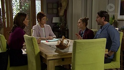 Elly Conway, Susan Kennedy, Piper Willis, Brad Willis in Neighbours Episode 7446