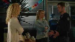 Belinda Bell, Steph Scully, Mark Brennan in Neighbours Episode 7446