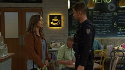 Amy Williams, Mark Brennan in Neighbours Episode 7446