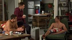 Aaron Brennan, Mark Brennan, Tyler Brennan in Neighbours Episode 7447