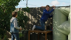 Jimmy Williams, Charlie Hoyland in Neighbours Episode 7447