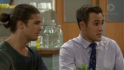 Tyler Brennan, Aaron Brennan in Neighbours Episode 7447