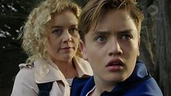 Belinda Bell, Charlie Hoyland in Neighbours Episode 7447