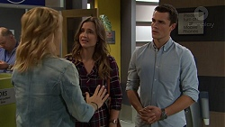 Steph Scully, Amy Williams, Jack Callaghan in Neighbours Episode 7448