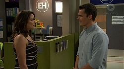 Paige Novak, Jack Callaghan in Neighbours Episode 7448