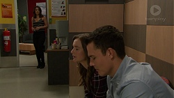 Paige Novak, Amy Williams, Jack Callaghan in Neighbours Episode 7448