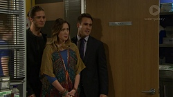 Tyler Brennan, Sonya Mitchell, Aaron Brennan in Neighbours Episode 7448