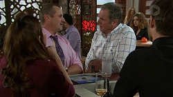 Elly Conway, Toadie Rebecchi, Karl Kennedy, Ned Willis in Neighbours Episode 7450