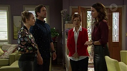 Piper Willis, Brad Willis, Susan Kennedy, Elly Conway in Neighbours Episode 7450
